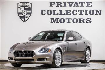 2010 Maserati Quattroporte for sale in Costa Mesa, CA