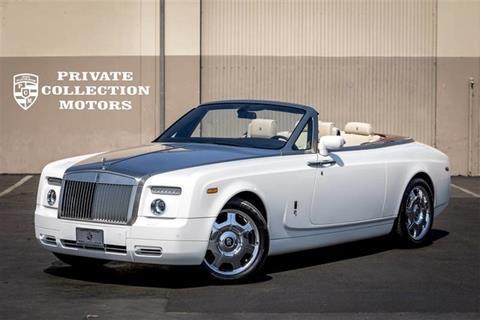 2008 Rolls-Royce Phantom Drophead Coupe for sale in Costa Mesa, CA
