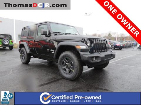 2019 Jeep Wrangler Unlimited for sale in Highland, IN