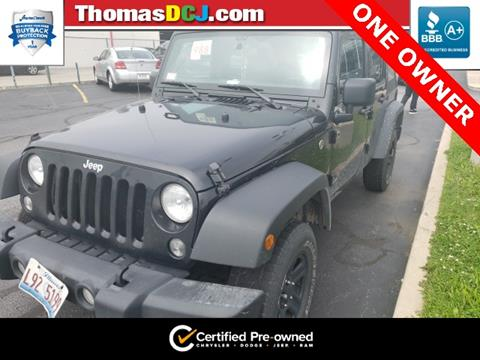 2017 Jeep Wrangler Unlimited for sale in Highland, IN