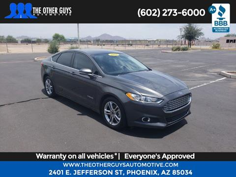 2016 Ford Fusion Hybrid for sale in Phoenix, AZ
