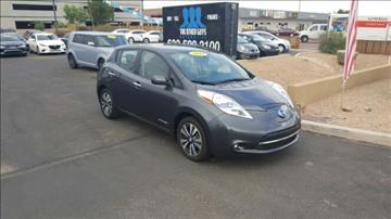 2013 Nissan LEAF for sale in Glendale, AZ