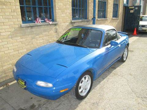 1991 Mazda MX-5 Miata for sale at 5 Stars Auto Service and Sales in Chicago IL