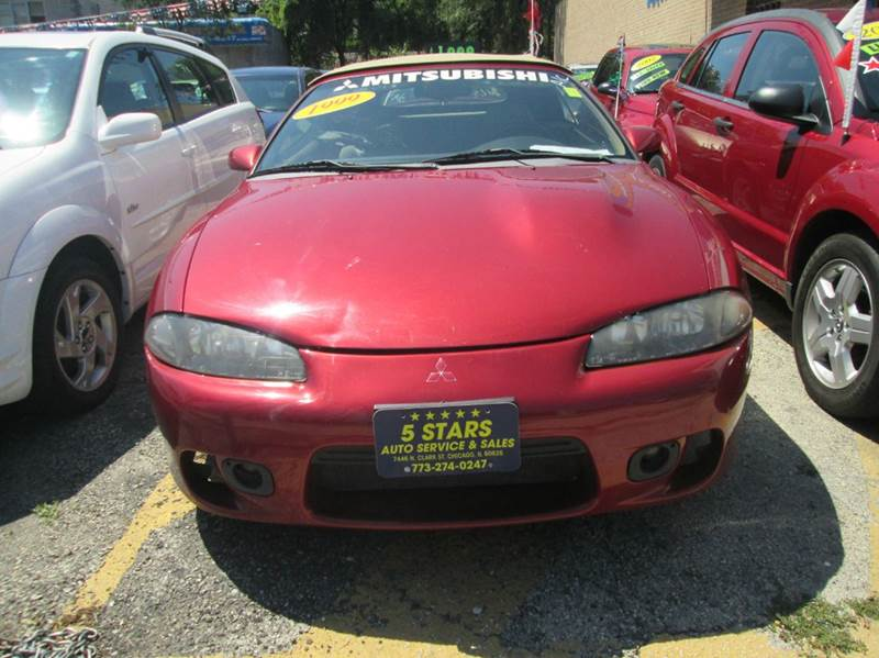 1999 mitsubishi eclipse spyder gs 2dr convertible in chicago il 5 stars auto service and sales. Black Bedroom Furniture Sets. Home Design Ideas