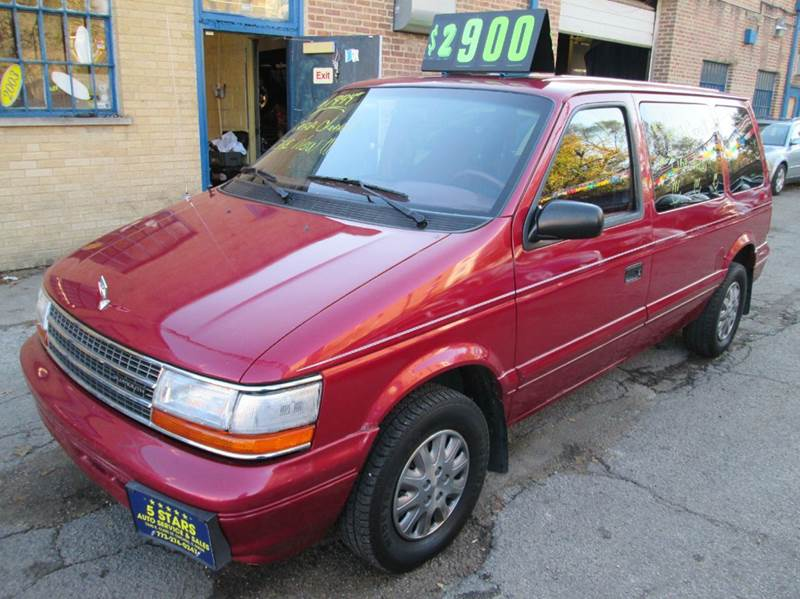 1994 Plymouth Voyager for sale at 5 Stars Auto Service and Sales in Chicago IL