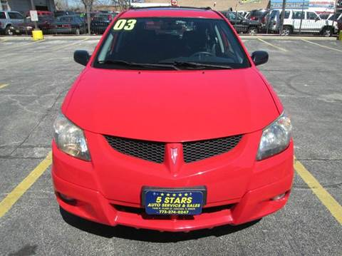 2003 Pontiac Vibe for sale at 5 Stars Auto Service and Sales in Chicago IL