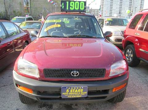 1996 Toyota RAV4 for sale at 5 Stars Auto Service and Sales in Chicago IL