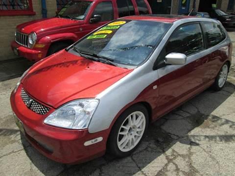 2002 Honda Civic for sale at 5 Stars Auto Service and Sales in Chicago IL