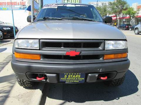 2001 Chevrolet Blazer for sale at 5 Stars Auto Service and Sales in Chicago IL