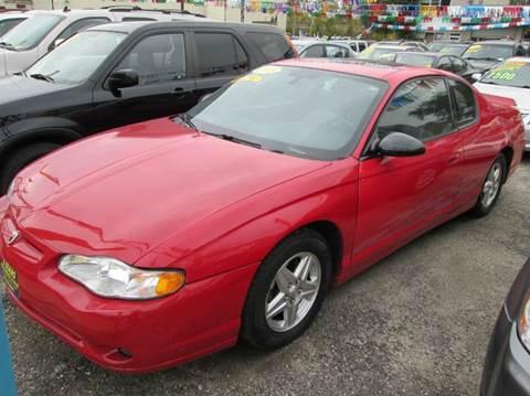 2005 Chevrolet Monte Carlo for sale at 5 Stars Auto Service and Sales in Chicago IL