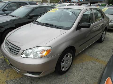 2003 Toyota Corolla for sale at 5 Stars Auto Service and Sales in Chicago IL