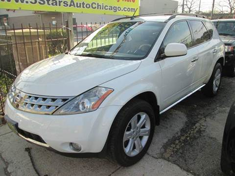 2007 Nissan Murano for sale at 5 Stars Auto Service and Sales in Chicago IL