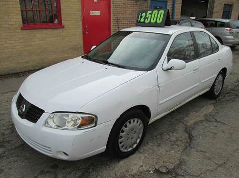 2004 Nissan Sentra for sale at 5 Stars Auto Service and Sales in Chicago IL