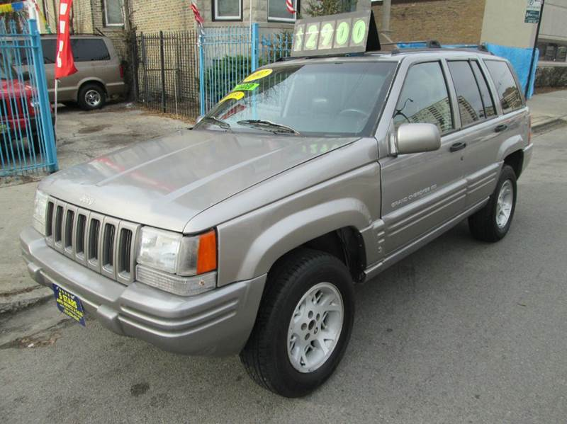 1997 Jeep Grand Cherokee Limited 4dr 4WD SUV   Chicago IL