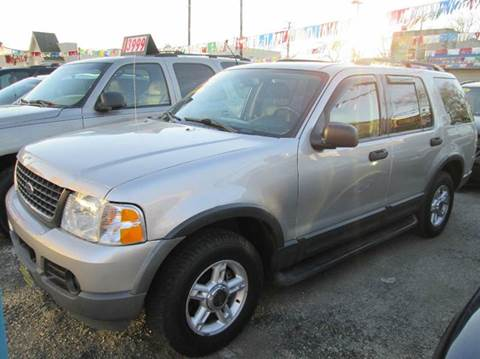 2003 Ford Explorer for sale at 5 Stars Auto Service and Sales in Chicago IL