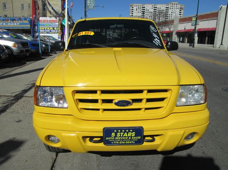 2001 Ford Ranger for sale at 5 Stars Auto Service and Sales in Chicago IL
