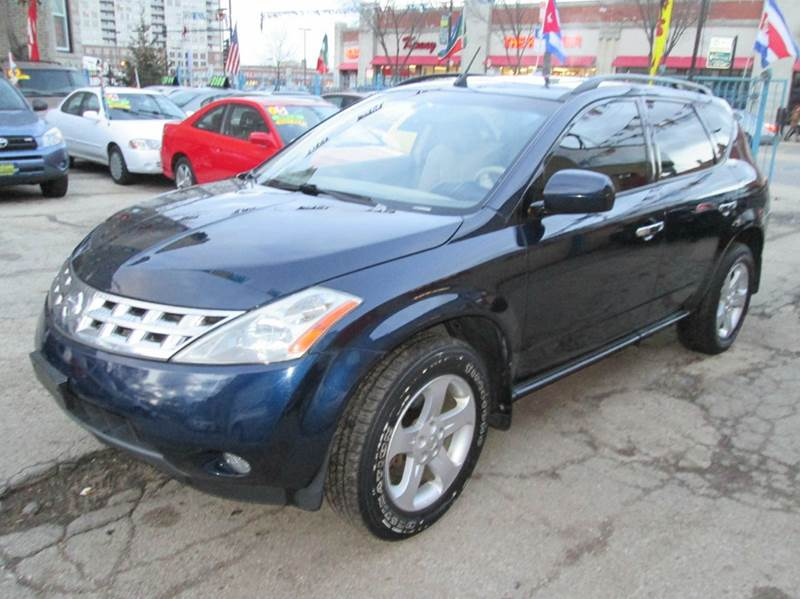 Nice 2003 Nissan Murano SL AWD 4dr SUV   Chicago IL