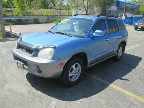 2003 Hyundai Santa Fe for sale at 5 Stars Auto Service and Sales in Chicago IL