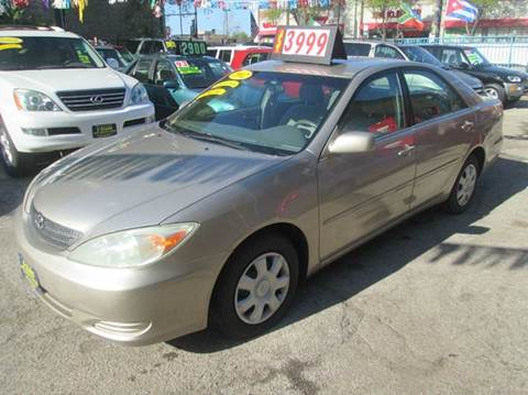 2002 Toyota Camry for sale at 5 Stars Auto Service and Sales in Chicago IL