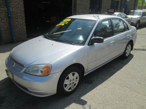 2003 Honda Civic for sale at 5 Stars Auto Service and Sales in Chicago IL