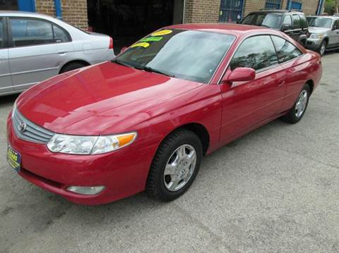 2002 Toyota Camry Solara for sale at 5 Stars Auto Service and Sales in Chicago IL