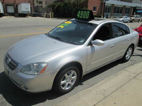 2003 Nissan Altima for sale at 5 Stars Auto Service and Sales in Chicago IL
