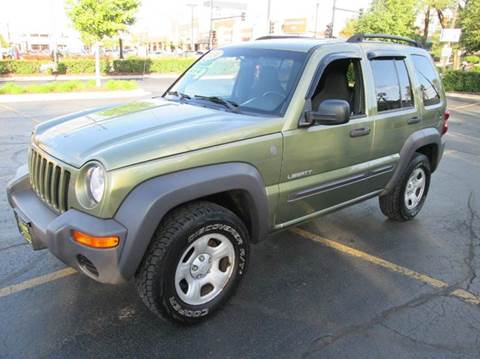 2004 Jeep Liberty for sale at 5 Stars Auto Service and Sales in Chicago IL
