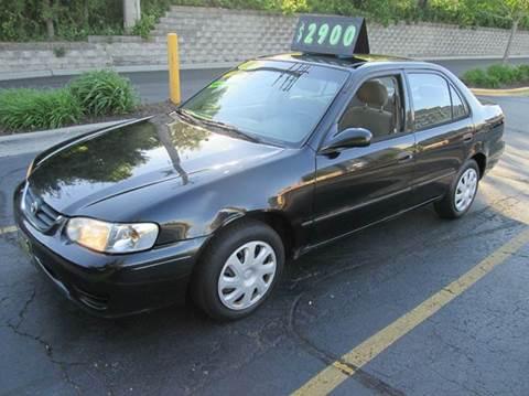 2001 Toyota Corolla for sale at 5 Stars Auto Service and Sales in Chicago IL
