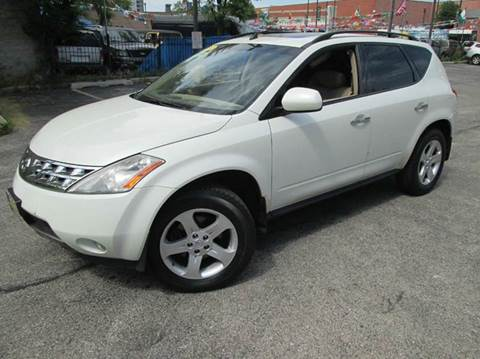 2004 Nissan Murano for sale at 5 Stars Auto Service and Sales in Chicago IL
