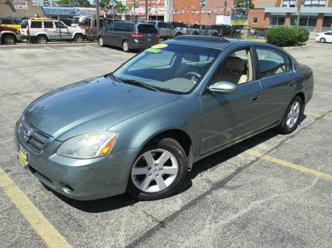 2002 Nissan Altima for sale at 5 Stars Auto Service and Sales in Chicago IL