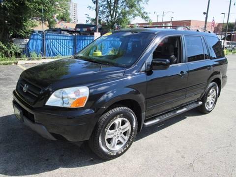 2003 Honda Pilot for sale at 5 Stars Auto Service and Sales in Chicago IL