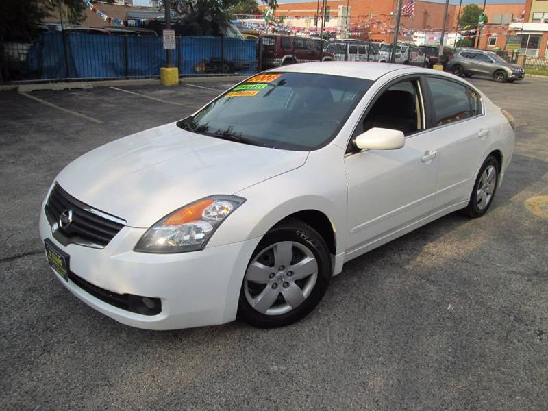 2008 Nissan Altima 25 S 4dr Sedan Cvt In Chicago Il 5 Stars Auto