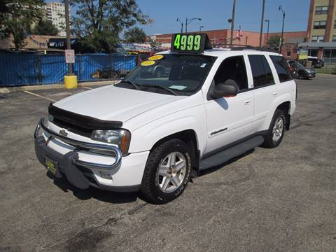 2002 Chevrolet TrailBlazer for sale at 5 Stars Auto Service and Sales in Chicago IL
