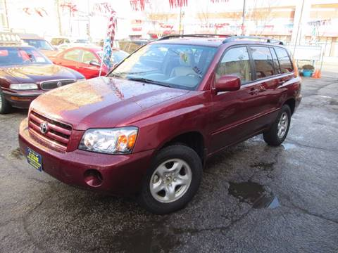 2004 Toyota Highlander for sale at 5 Stars Auto Service and Sales in Chicago IL