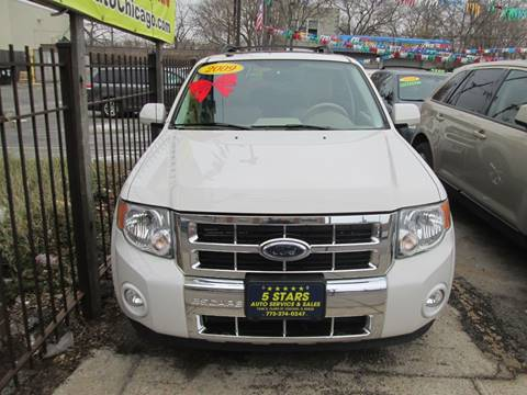 2009 Ford Escape for sale at 5 Stars Auto Service and Sales in Chicago IL