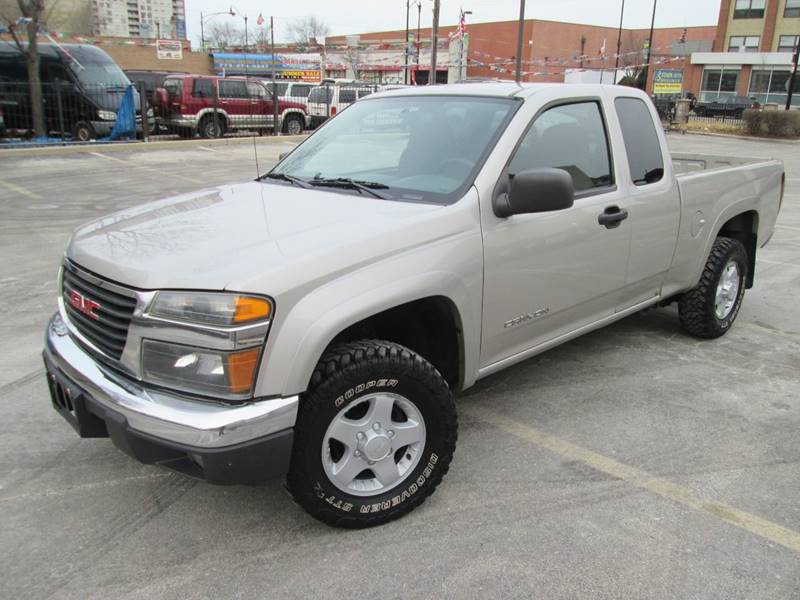 2004 GMC Canyon for sale at 5 Stars Auto Service and Sales in Chicago IL