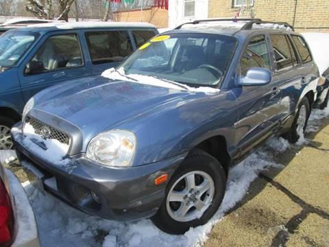2002 Hyundai Santa Fe for sale at 5 Stars Auto Service and Sales in Chicago IL
