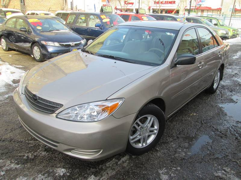 2002 Toyota Camry For Sale >> 2002 Toyota Camry Le 4dr Sedan In Chicago Il 5 Stars Auto