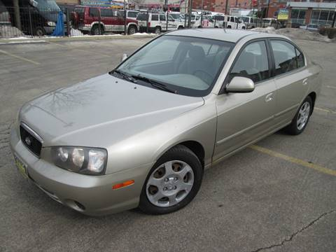 2001 Hyundai Elantra for sale at 5 Stars Auto Service and Sales in Chicago IL