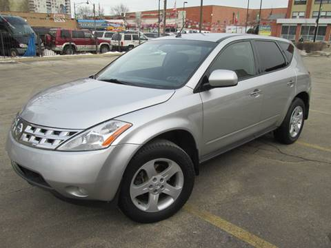 2003 Nissan Murano for sale at 5 Stars Auto Service and Sales in Chicago IL