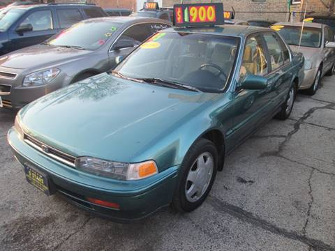 1993 Honda Accord for sale at 5 Stars Auto Service and Sales in Chicago IL