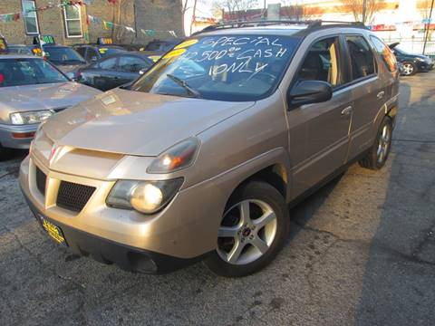 2002 Pontiac Aztek for sale at 5 Stars Auto Service and Sales in Chicago IL