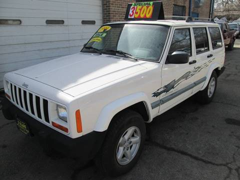 1999 Jeep Cherokee for sale at 5 Stars Auto Service and Sales in Chicago IL