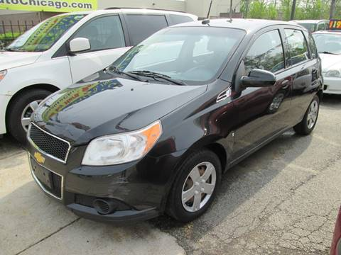 2009 Chevrolet Aveo for sale at 5 Stars Auto Service and Sales in Chicago IL