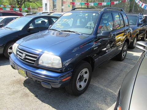 2002 Suzuki Vitara for sale at 5 Stars Auto Service and Sales in Chicago IL