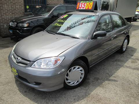 2004 Honda Civic for sale at 5 Stars Auto Service and Sales in Chicago IL