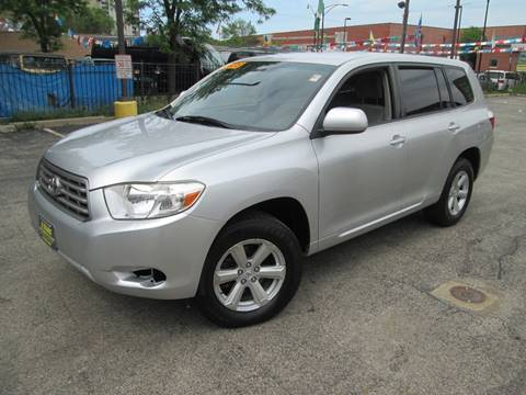 2008 Toyota Highlander for sale at 5 Stars Auto Service and Sales in Chicago IL