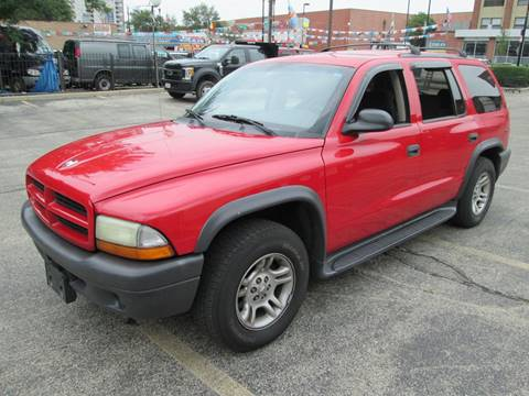 2003 Dodge Durango for sale at 5 Stars Auto Service and Sales in Chicago IL