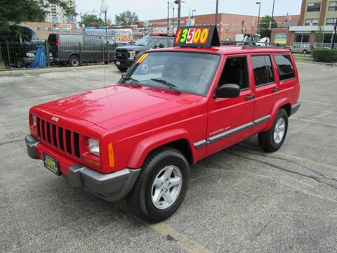 2001 Jeep Cherokee for sale at 5 Stars Auto Service and Sales in Chicago IL