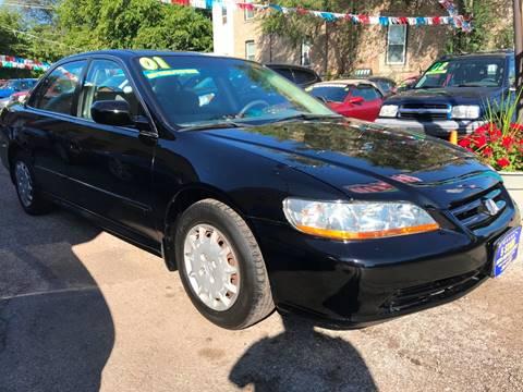 2001 Honda Accord for sale at 5 Stars Auto Service and Sales in Chicago IL